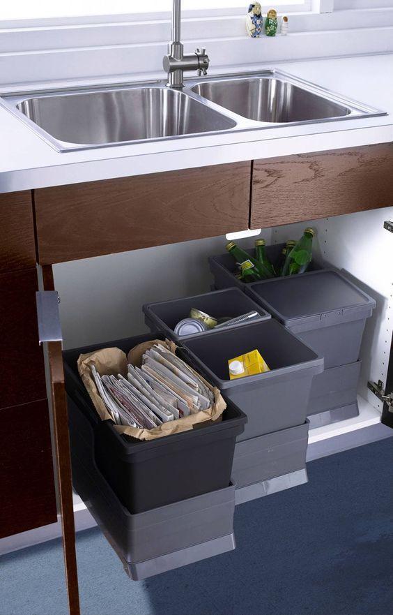 мусорное ведро для кухни