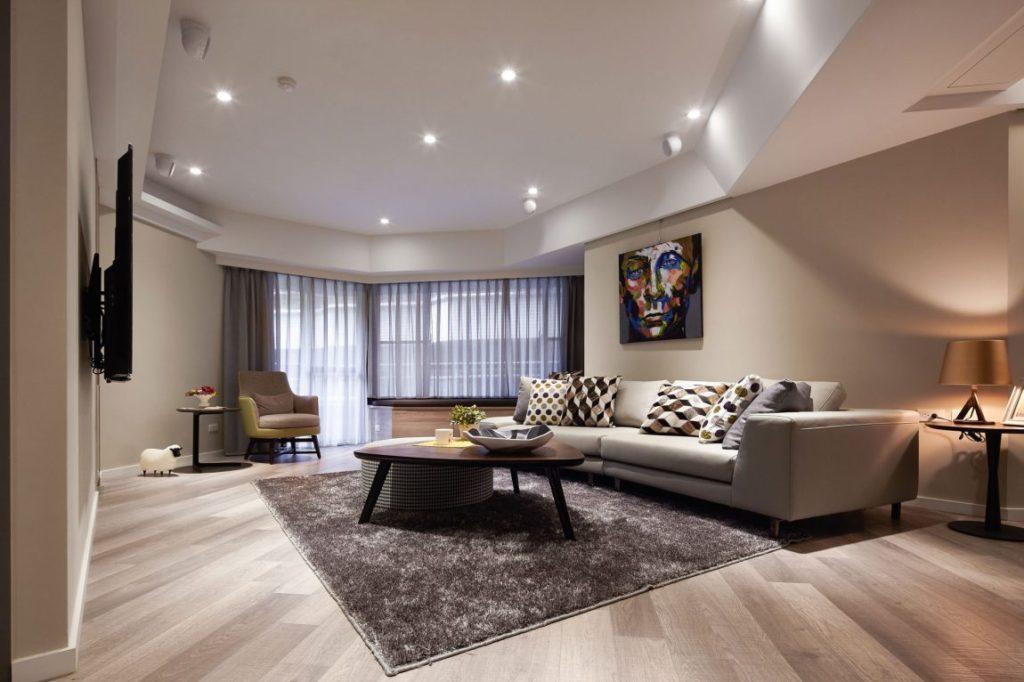 Дизайн квартир в стиле модерн фото