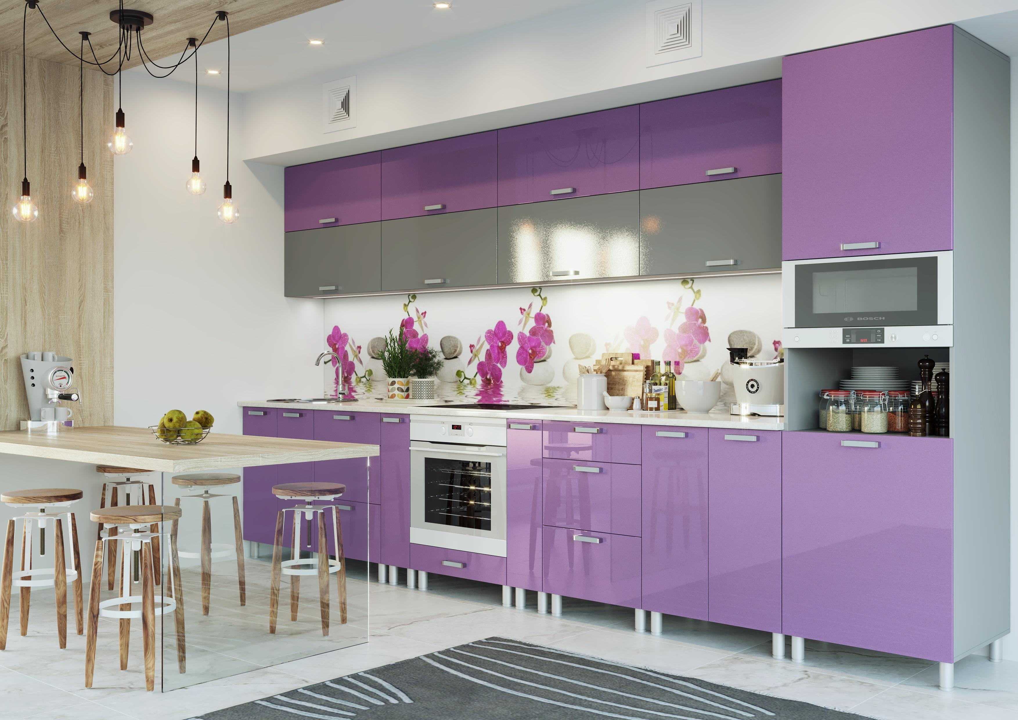 могу себя кухня слива лаванда примеры дизайн фото что это такое