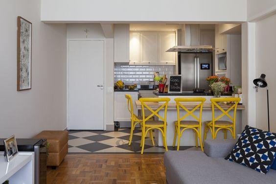 кухня совмещенная с коридором