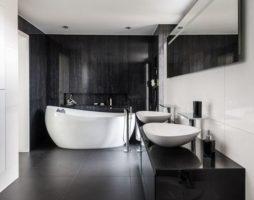 Ванная в стиле хай-тек: рекомендации по обустройству высокотехнологичного интерьера