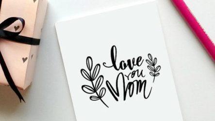 Создаем эксклюзивные открытки для мамы своими руками
