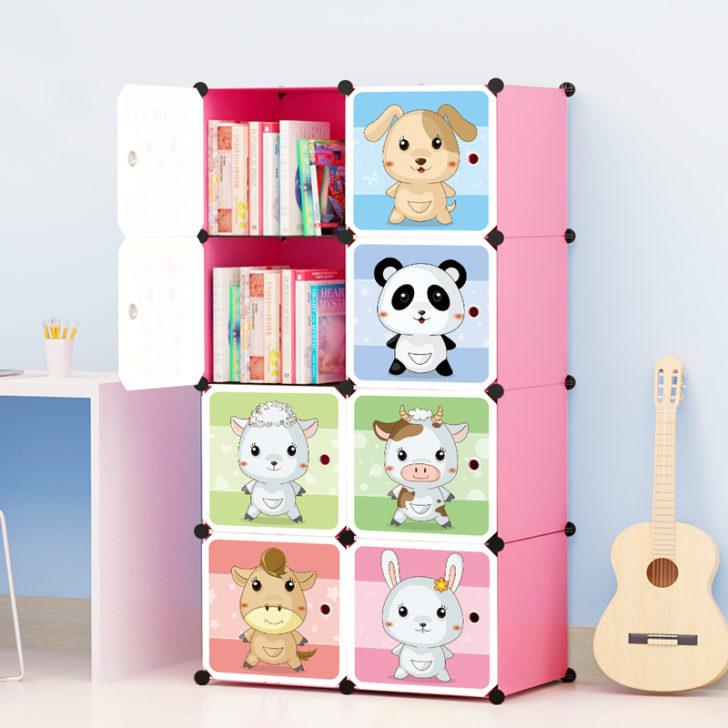 хранение книг в детской