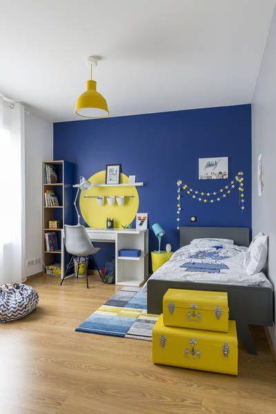 детская в желтом цвете