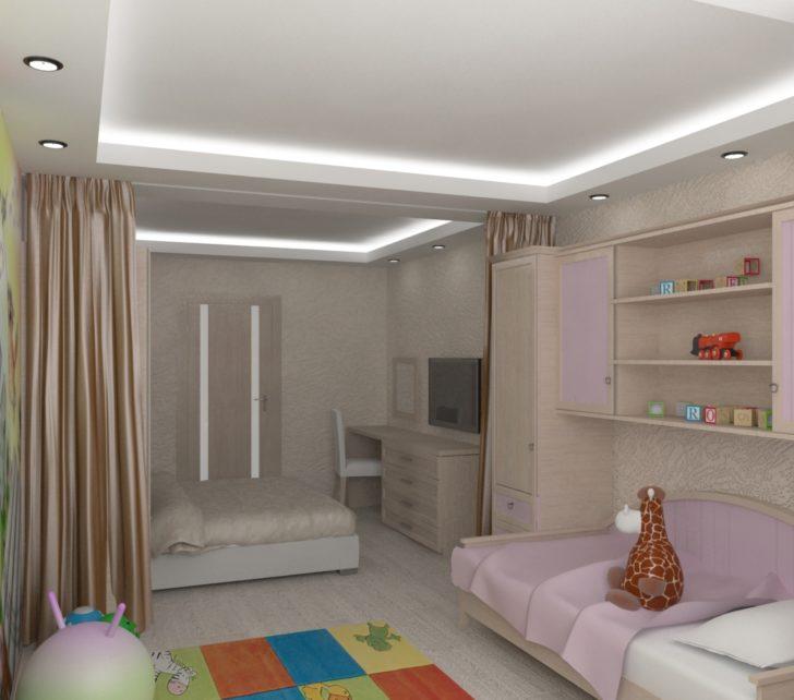 однокомнатная квартира с детской