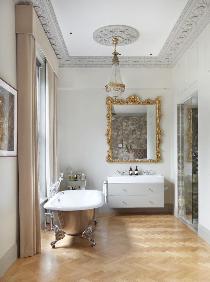 классический дизайн ванной