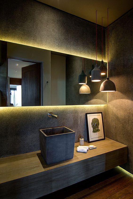 свет в ванной комнате