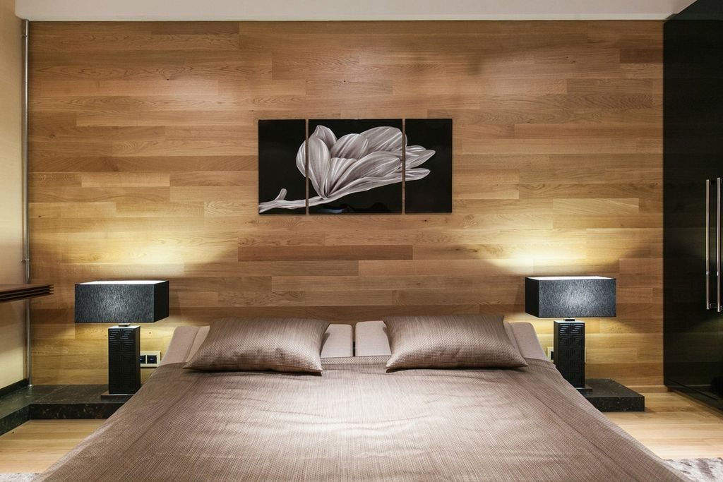 можно делать отделка стен ламинатом в спальне фото снимаете рук, непременно