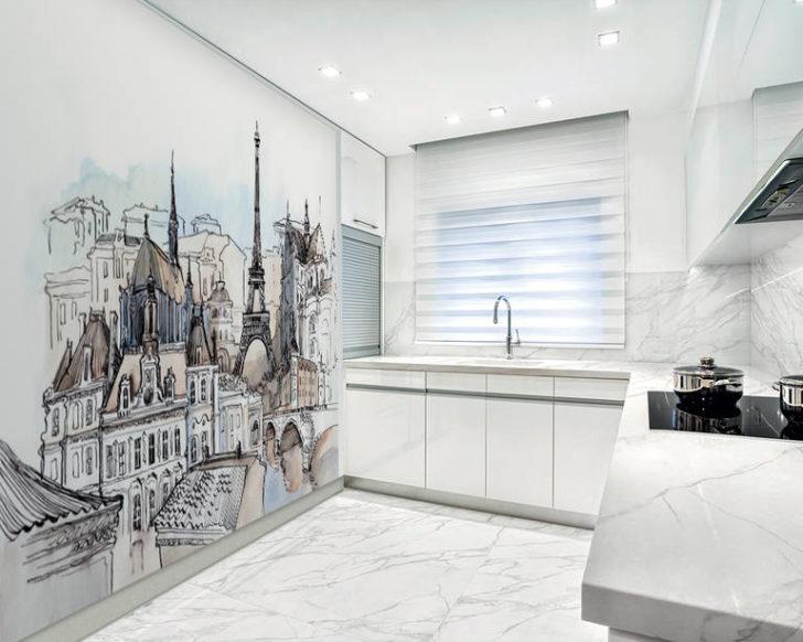 фрески на кухне