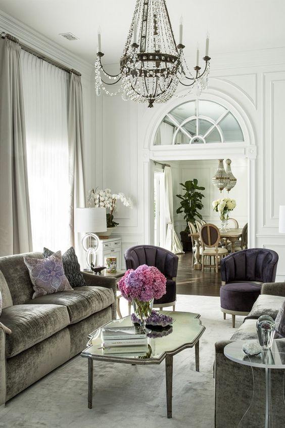 арки в интерьере гостиной