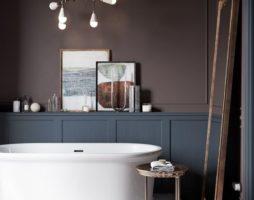 Ванна в коричневых тонах: идеи создания гармоничных интерьеров