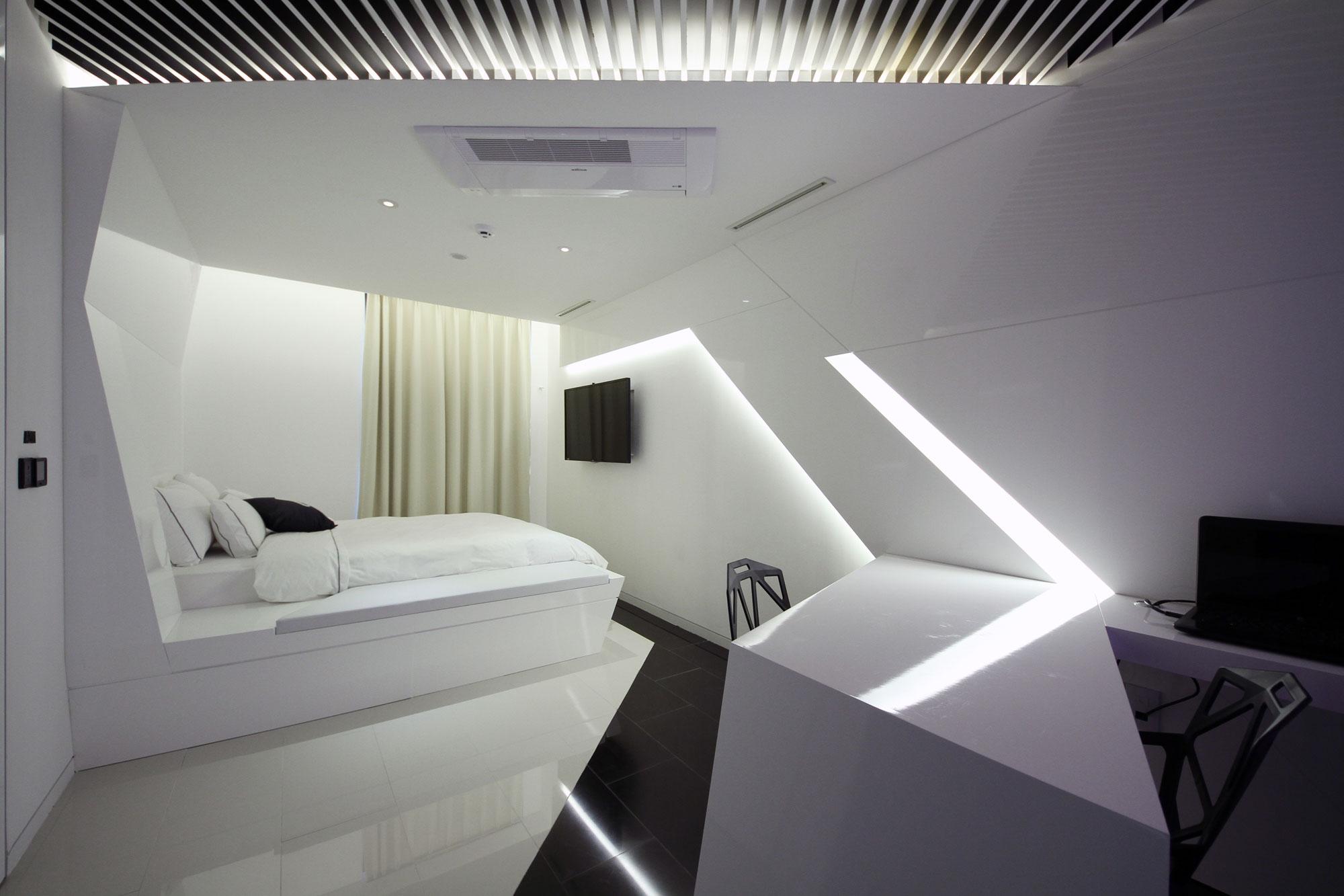 комнаты в стиле хай тек картинки