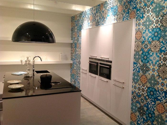 кухня в пэчворк стиле