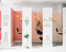 Рациональное зонирование офиса перегородками