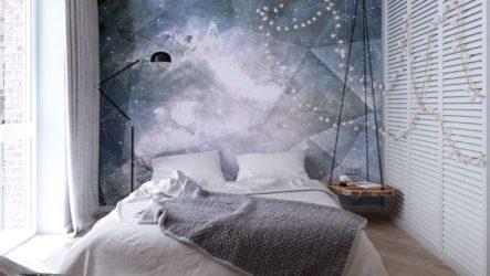Особенности оформления интерьера спальни с фотообоями