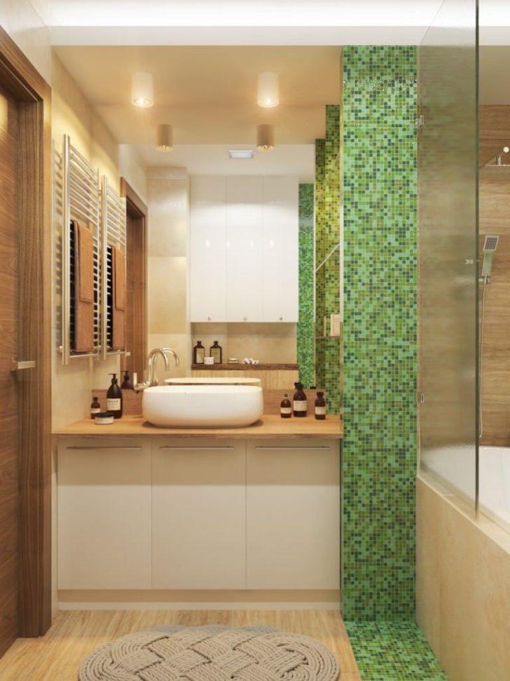ванная в бежевом цвете