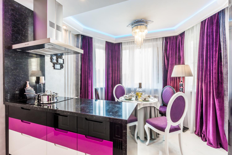 современные картинки в фиолетовом цвете фото форма воротника, соединяющего