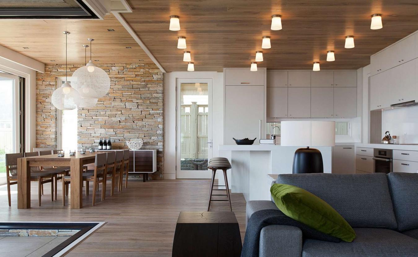 потолок из ламината на кухне фото наращивание выполняется