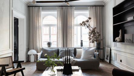 Светлые шторы в интерьере: стилистическая универсальность оконных нарядов спокойной цветовой гаммы