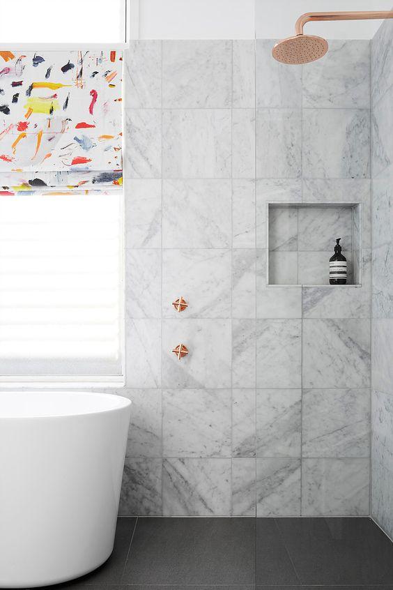 керамогранит в ванной