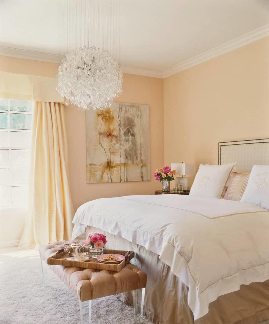 Прованс в персиковом цвете