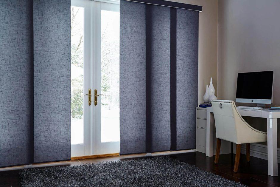 Окна в японском дизайне спальни