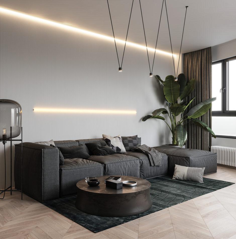 Мебель в гостиной. Минимализм