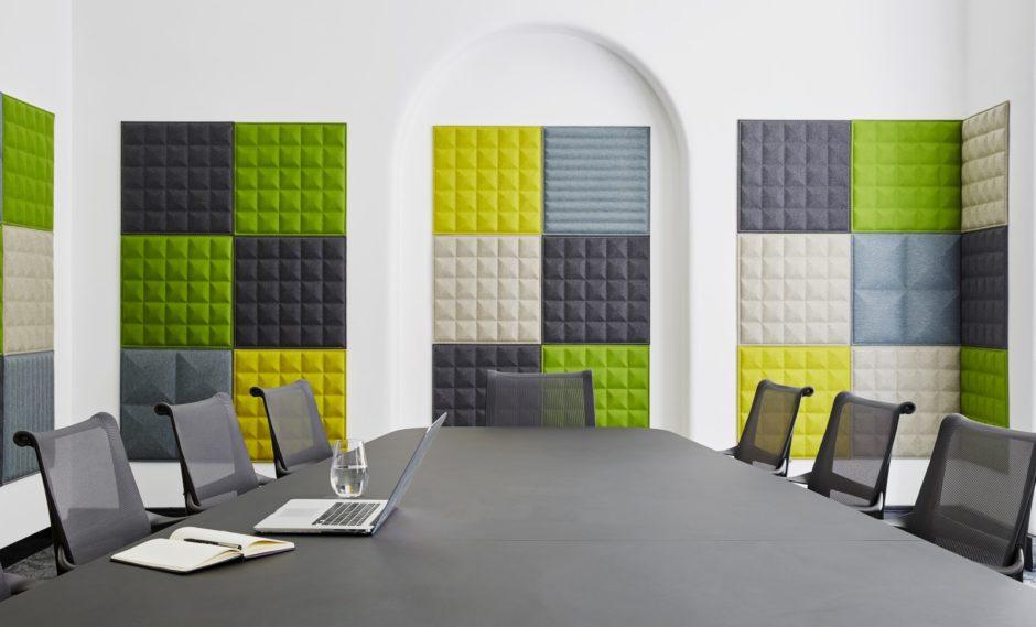 Стеновые панели в интерьере офиса