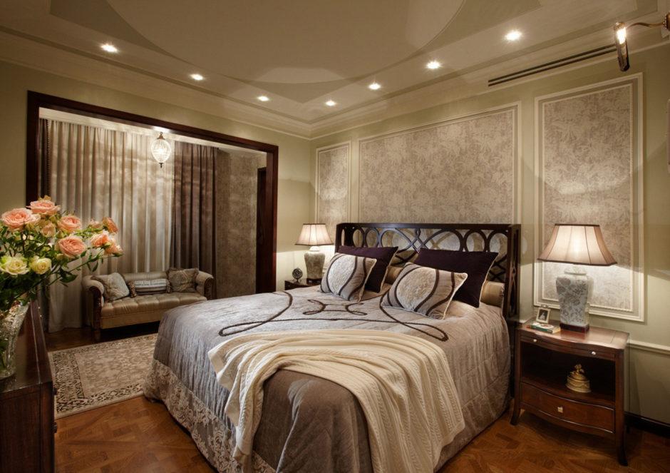 Дизайн объединение балкона со спальней. Идеи дизайна