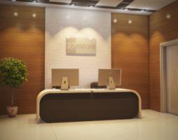 Стеновые панели в интерьере офиса: дизайнерские решения с вариативным применением эффектного настенного декора