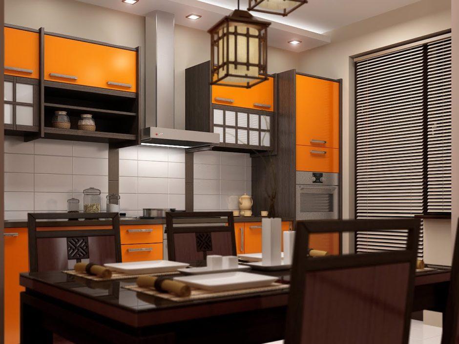 Кухни в японском стиле. Современный стиль