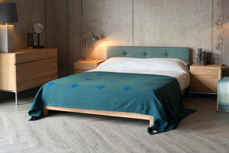 Пол в спальне японского стиля
