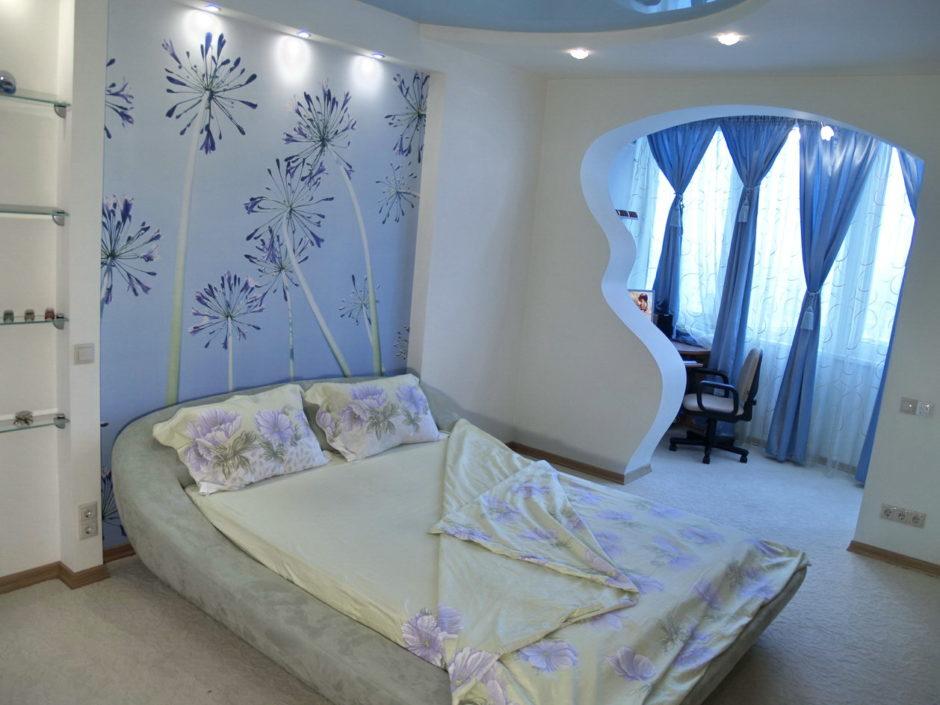 Оформление пространства объединенного балкона с комнатой