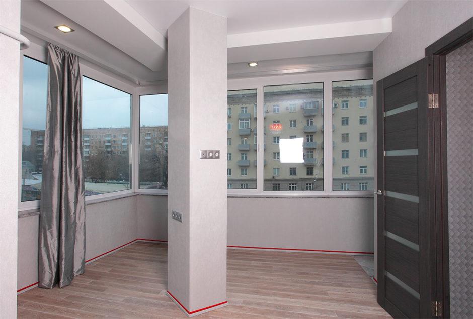 Идеи объединение балкона с комнатой