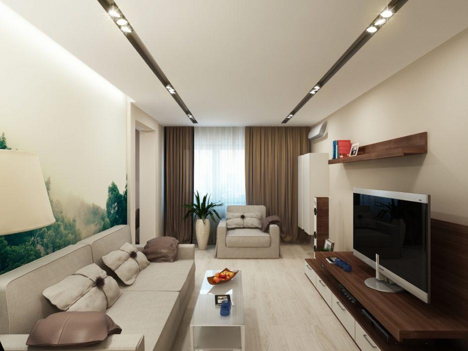 Потолок в минималистическом интерьере
