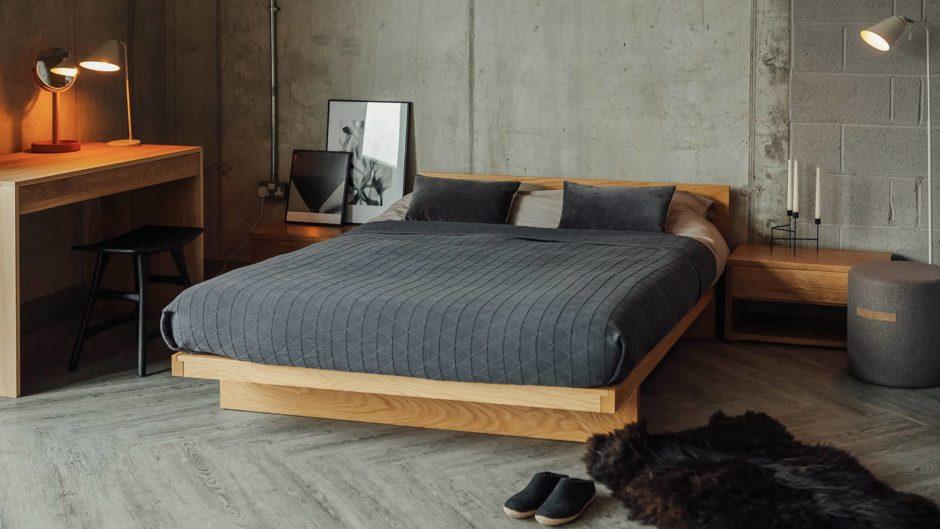 Цветовое решение спальни  в японском стиле