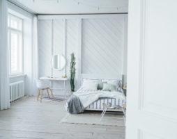 Интерьер спальни в светлых тонах – идеи дизайна и фото