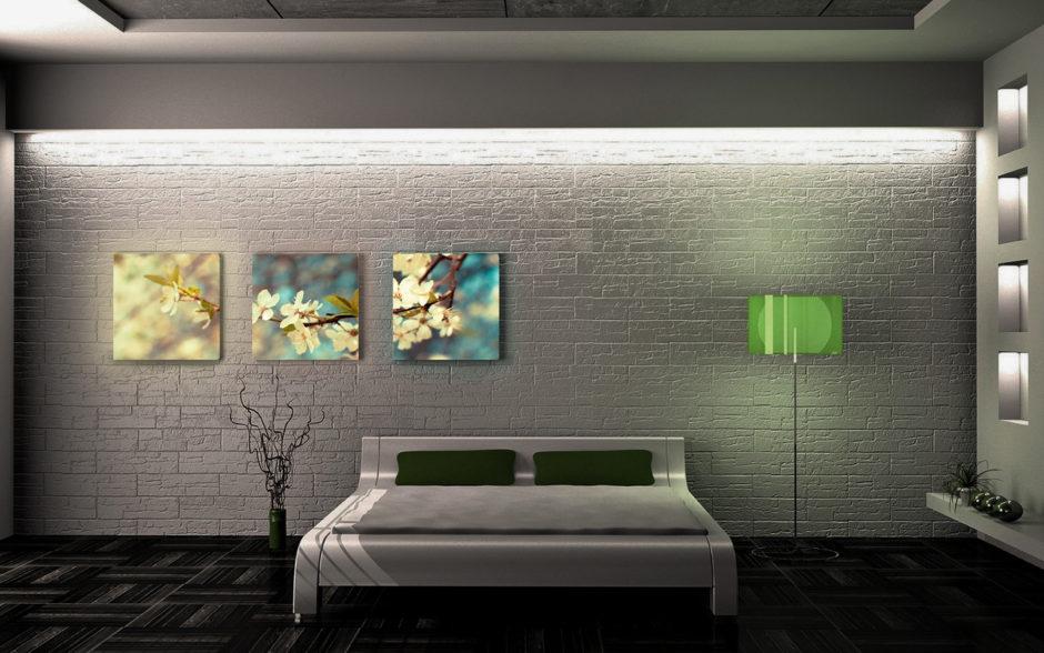 первом снимке световые панели на стену в квартире фото рамках ежегодного