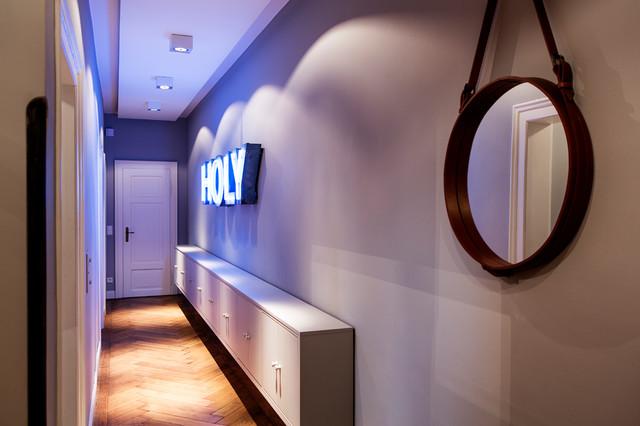 варианты дизайна потолка в коридоре