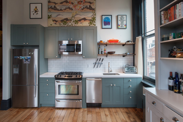 расставляем мебель на кухне