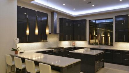 Секреты правильной подсветки на кухне