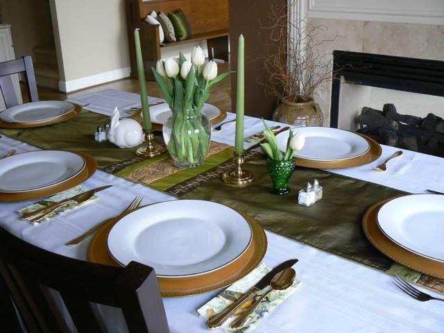 посуда при правильной сервировке стола