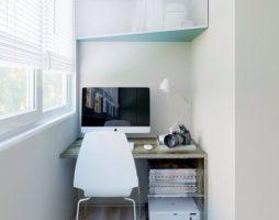 Создаем кабинет на балконе: особенности и преимущества