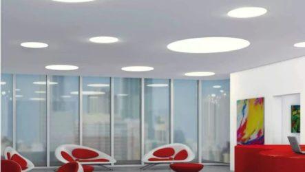 Плоские светильники и люстры для вашего потолка