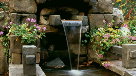 Как создать долговечный и естественный ручей, пруд, водопад или фонтан? Опыт «Студии Семь чудес света»