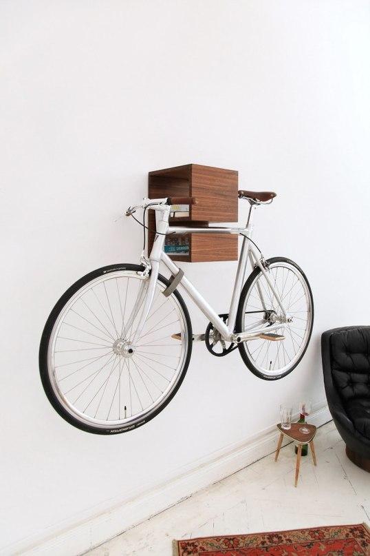хранение велосипеда на балконе